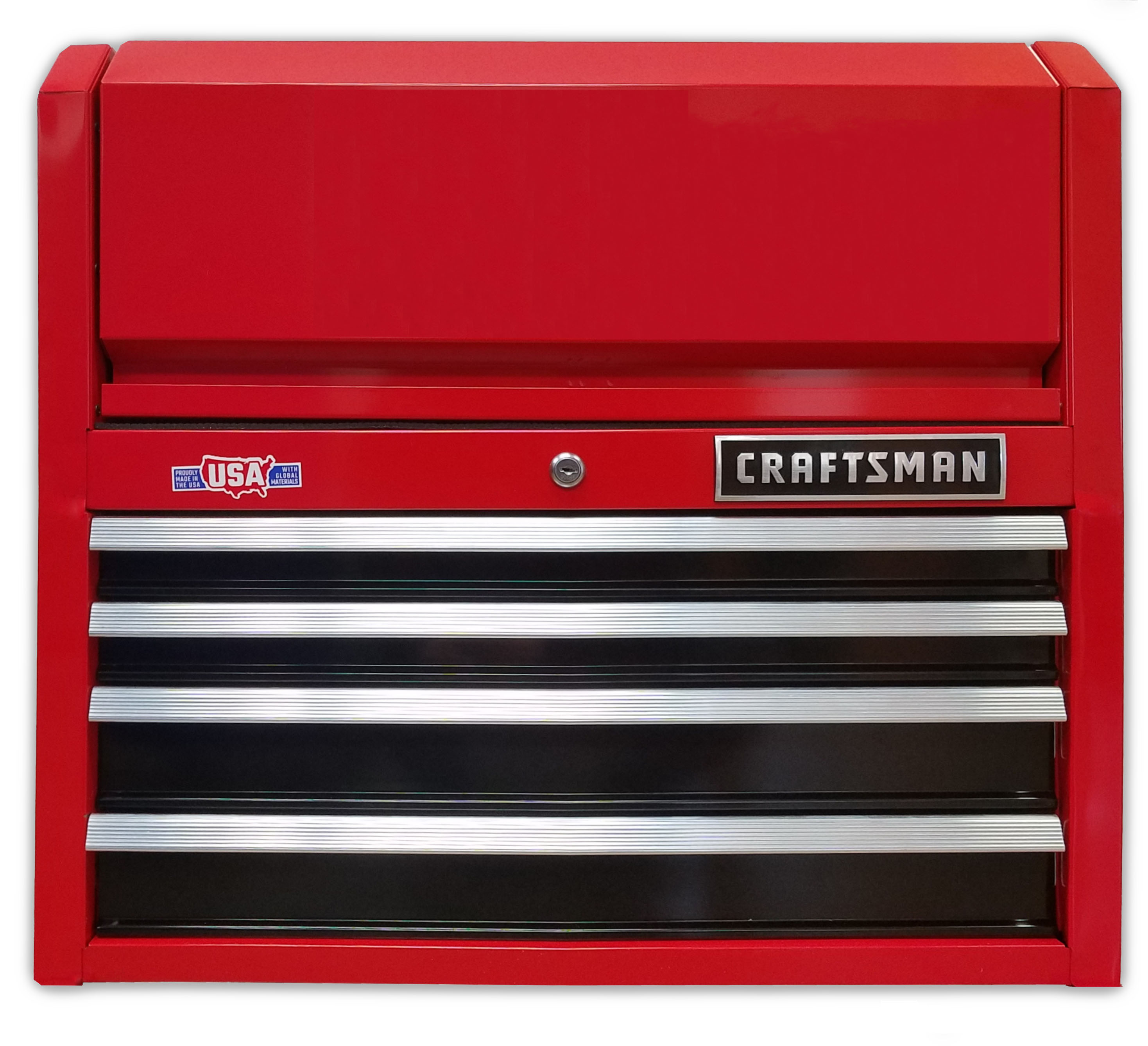 drawer layout for Craftsman 26-inch toolbox