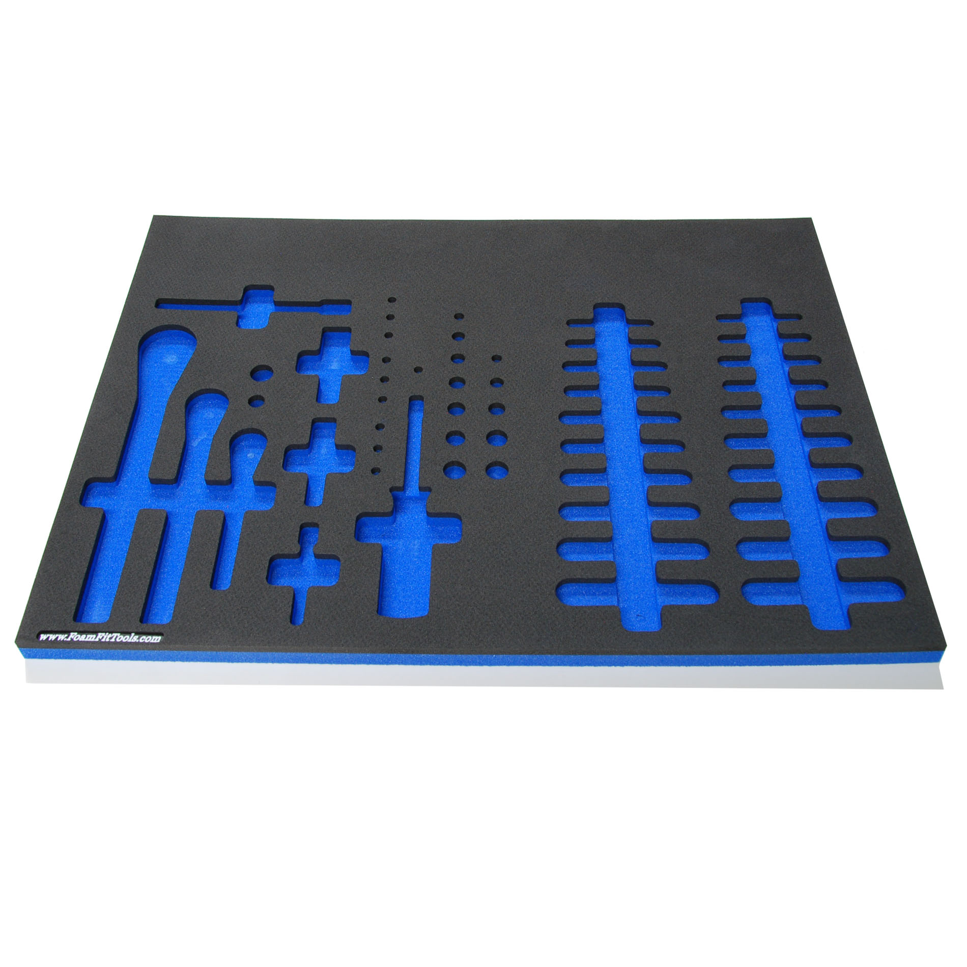 Foam Organizers For Shadowing Ratchets And Drive Accessories